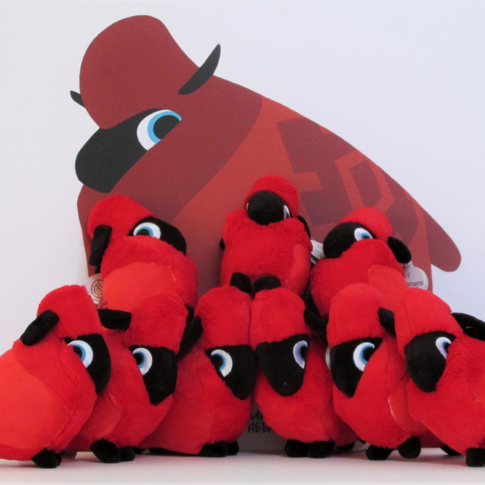 Плюшена играчка - Овцата Хари